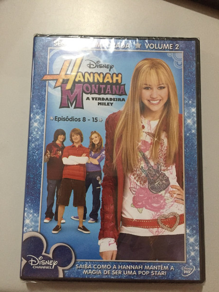Dvd Hannah Montana Segunda Temporada A Verdadeira Miley Lacr