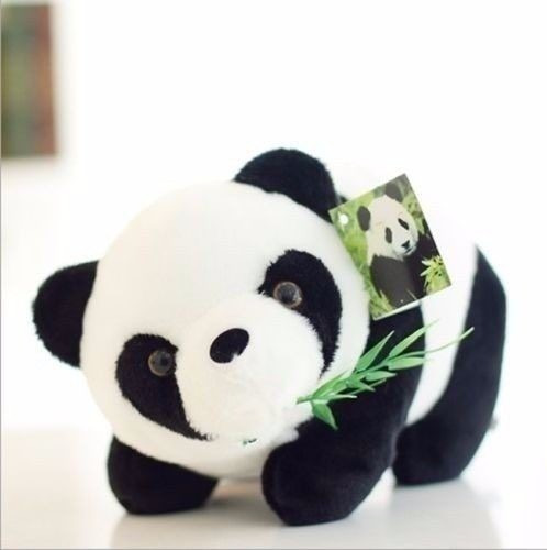 Urso De Pelúcia Panda 14 Cm P/entrega