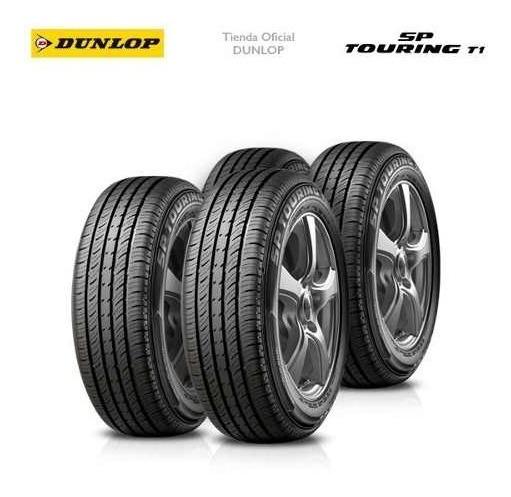 Kit X4 185/70 R13 Dunlop Sp Touring T1 + Tienda Oficial