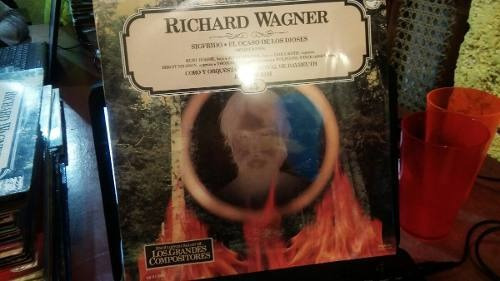 Imagen 1 de 2 de Lp Nuevo Sellado 1986 Wagner Sigfrido El Ocaso De Los Dio...