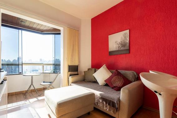 Apartamento Para Aluguel - Paraíso, 1 Quarto, 45 - 893118225