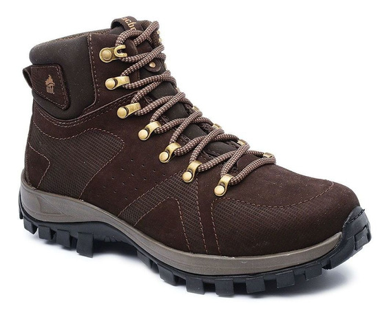 Bota Adventure Cano Alto Macboot Onix 02 Café