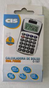 Calculadora Cis C 107 De Bolso Sertic C/1 Unidade.