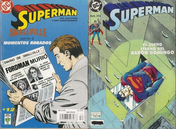Superman Dc Comics Editorial Vid 90´s Y 2000