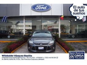 Ford Focus Titanium Plus 4-ptas 2013 Seminuevos