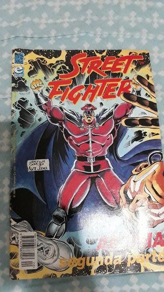 Revista Games Super Street Fighter 2 Quadrinhos Akuma