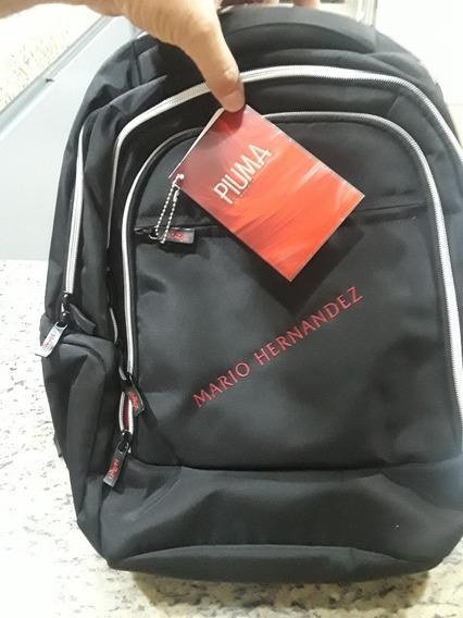Morral O Bolso Mario Hernandez Original Color Negro