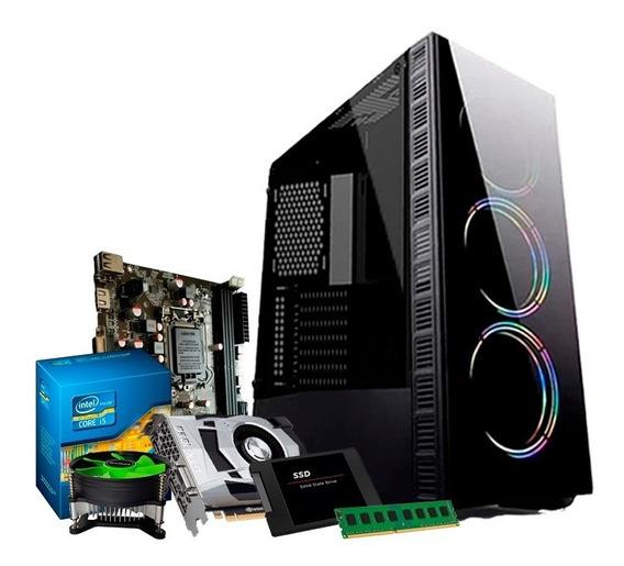 Cpu Gamer Core I5/ 8gb/ Ssd 240/gtx Ti 1050 4gb + Nfe