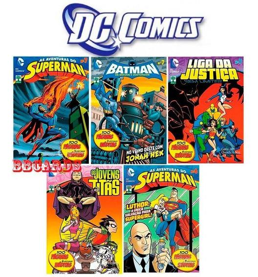 Hqs Dc Comics Abril Superman Batman Revistas Gibis
