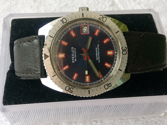 Reloj Steelco Automatico 25 Joyas Vintage