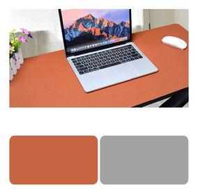 Mesa Frente E Verso Mousepad Brown + Cinza Claro 120x60