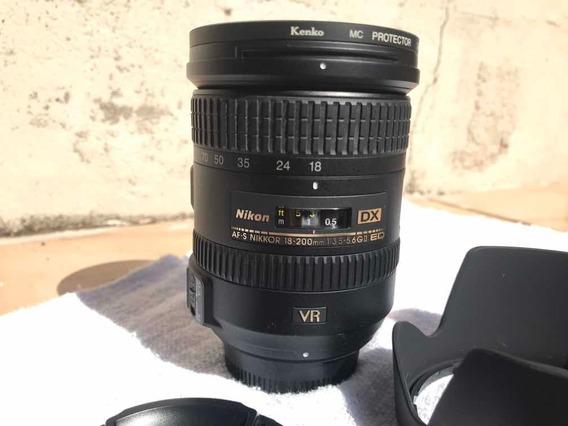 Lente Nikon 18-200 Vr Ii