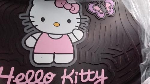Tapetes Hello Kitty Universales 3p Sintetico Envio Gratis