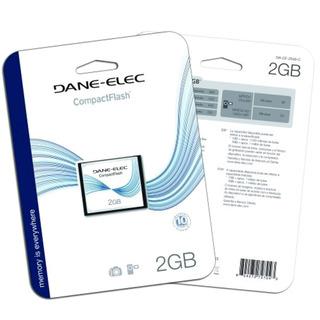 Dane-elec 2 Gb Compactflash Tarjeta De Memoria Da-cf-2048-r