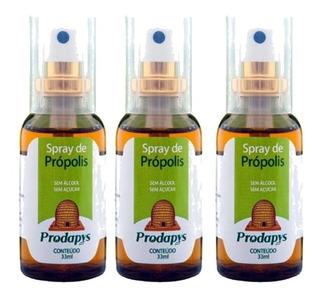 Kit 3 Spray De Própolis 33ml Prodapys