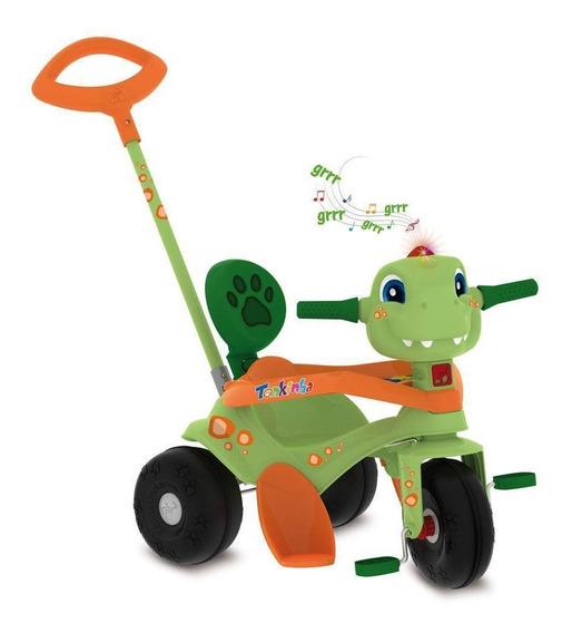 Triciclo Tonkinha Passeio E Pedal Dino - Bandeirante