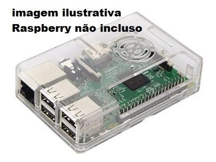 10x Case Para Raspberry Pi Modelo B+ Pi2 Automacao Sao Paulo