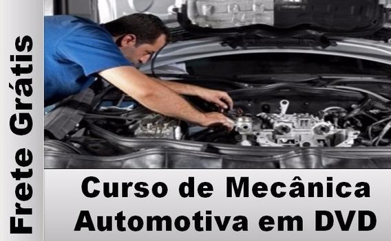 Curso De Mecânica Automotiva Em Dvd Duplo Frete Grátis
