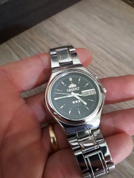 Relógio Orient Automático Mostrador Preto