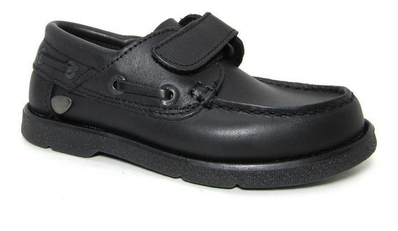 Zapato Cavatini Náutico Colegial Con Abrojo