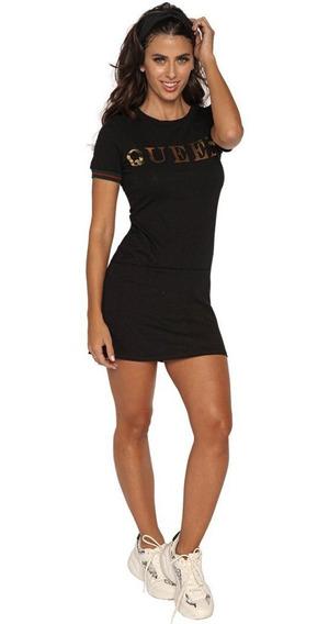 Vestido De Mujer Casual Sexy Corto Negro Juvenil Original