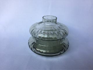 Base Vidro Lampião Antigo À Kerosene Encaixe Parede E Mesa