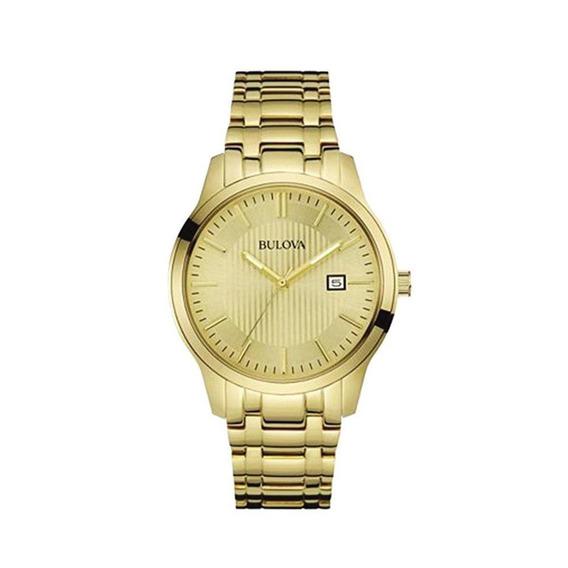 Relógio Bulova Masculino Classic Aço Dourado Wb22444g