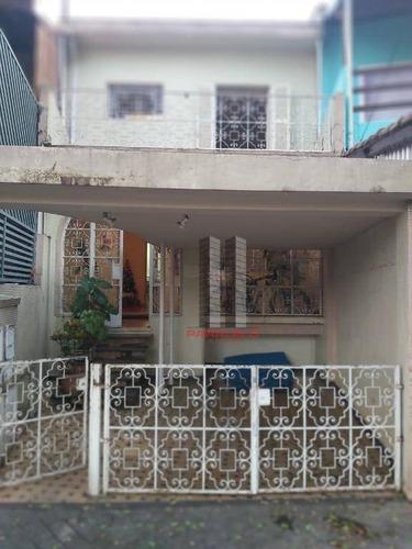 Sobrado Com 3 Dormitórios À Venda, 100 M² Por R$ 990.000,00 - Mooca - São Paulo/sp - So1524