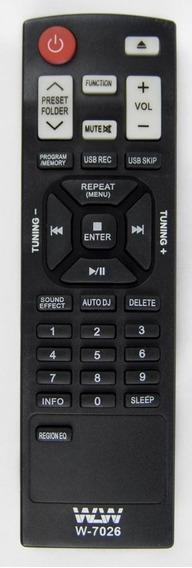 Controle Remoto Ref:w-7026