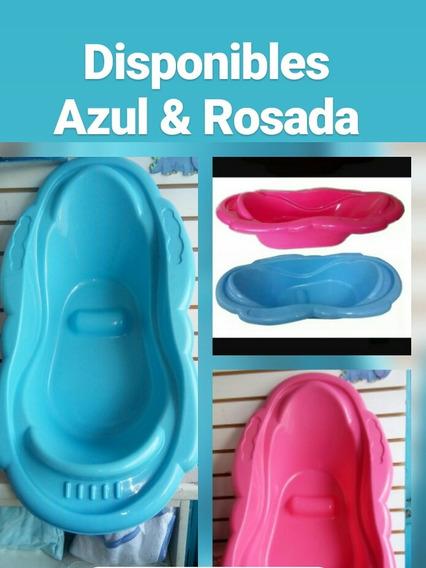 Tina-bañera Para Bebés Color Rosado Y Azul Somos Tienda