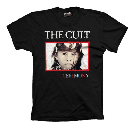Remera The Cult Ceremony Vintage Retro Tour