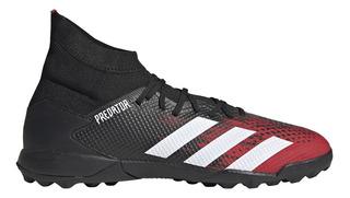 Botines adidas Futbol Predator 20.3 Tf Hombre Ng/rj