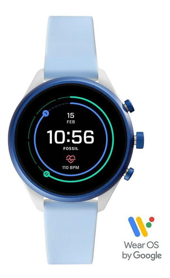 Smartwatch Fossil Sport Unissex Azul Ftw6026/8ai
