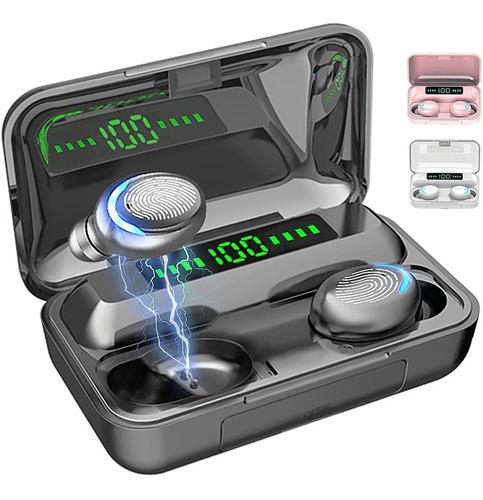 Imagen 1 de 10 de Audífonos Inalámbricos Bluetooth 5.0 Táctil Pantalla Digital