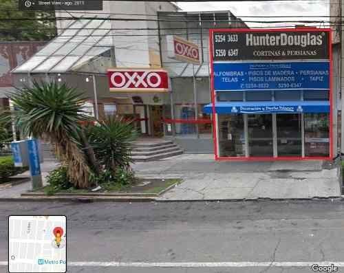 Renta De Excelente Local Comercial En Av Homero 180 M2