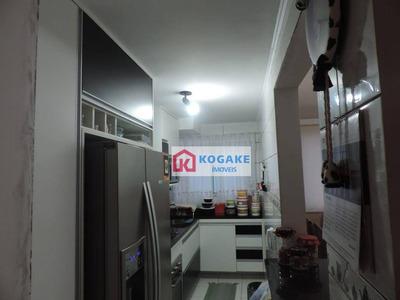 Cobertura Com 3 Dormitórios À Venda, 115 M² Por R$ 300.000 - Jardim América - São José Dos Campos/sp - Co0065