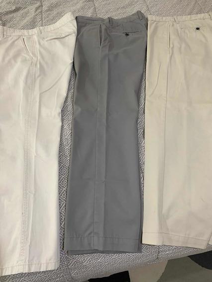 Gap Lote De 3 Pantalones Khakis En Excelentes Condiciones