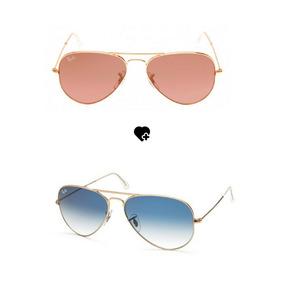 619f7cd68 Oculos Rayban Feminino Aviador - Óculos De Sol no Mercado Livre Brasil