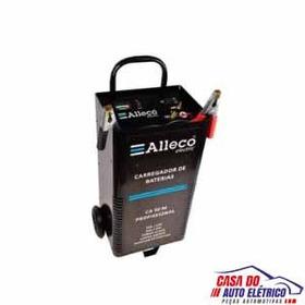 Carregador Bateria Carga Lentarapida Com Auxiliar Partida Al