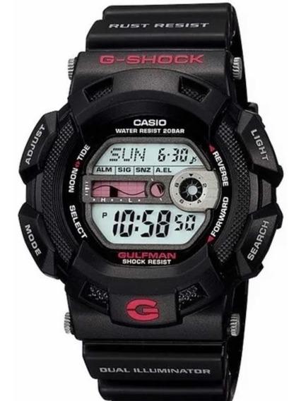 Relogio Casio G-shock G-9100-1dr Gulfman