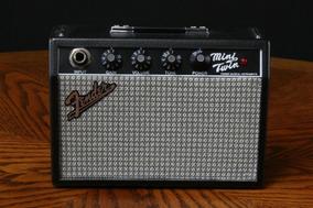 Mini Amplificador Fender Mini 65 Twin Amp + Novo + Nf!