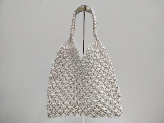 Bolsa De Algodão Feminina Modelo Handbag Verão 2019