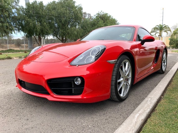 Porsche Cayman 2014 3.4 S H6 Pdk At