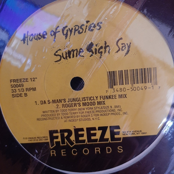 Vinilo Ouses Of Gypsies Sume Sigh Say Freeze Rocords E1