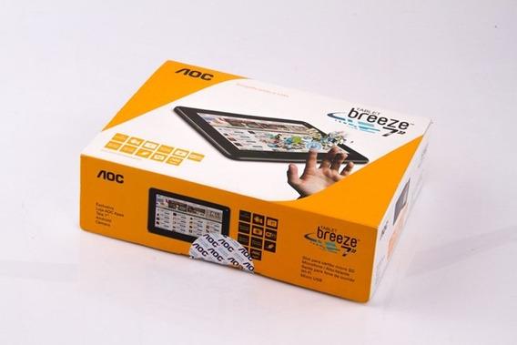 Caixa Do Tablet Aoc Breeze 7y2241 7 Pol. Original Leia