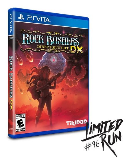Rock Boshers Dx Ps Vita Limited Run Midia Fisica