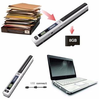 Escaner Portatil Cindy Msrm + Micro Sd 8 Gb + Pilas