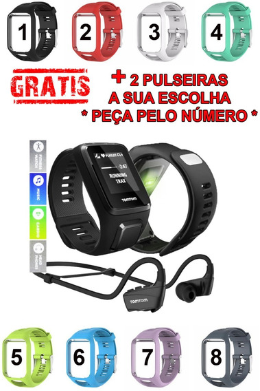 Tomtom Relogio Spark 3 Cardio Music Gps Large - Completo