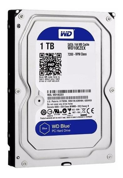 Disco Rígido Western Digital Wd Blue 1tb 7200rpm Noaweb