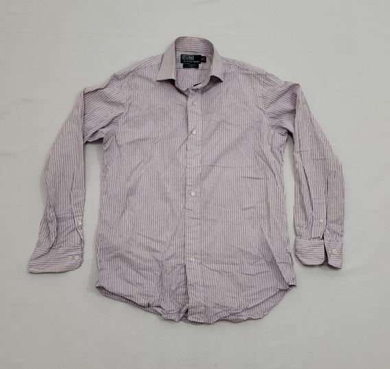 Camisa Polo Ralph Lauren 15 32-33 Regent Custom Fit.